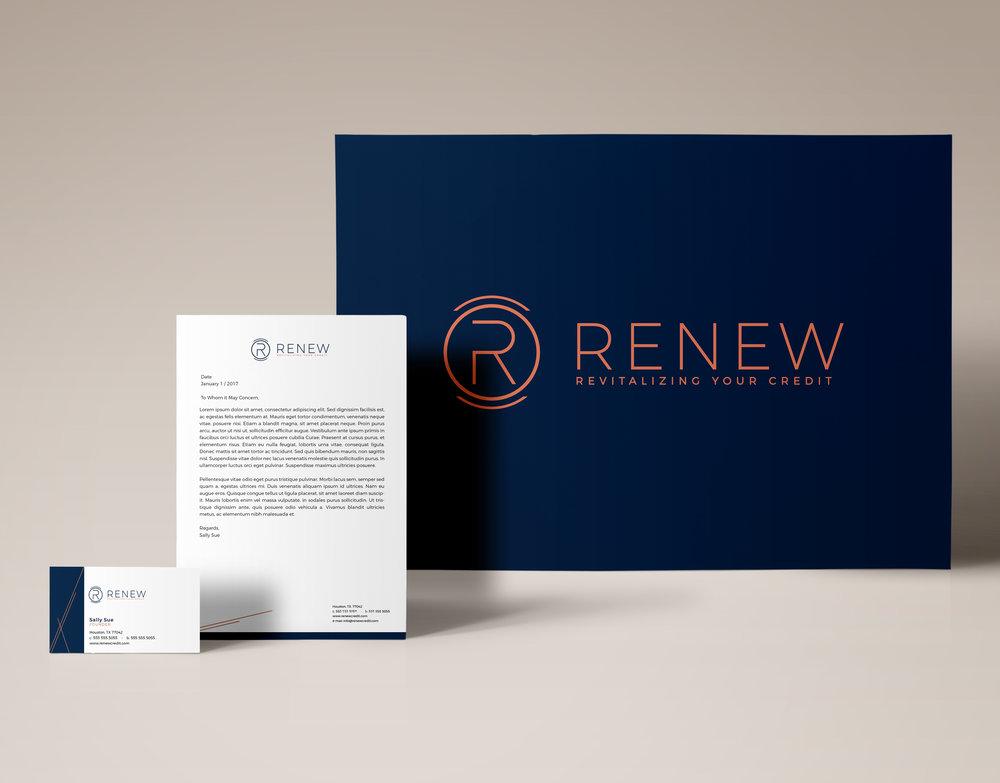 RENEW Credit | Stationery Design
