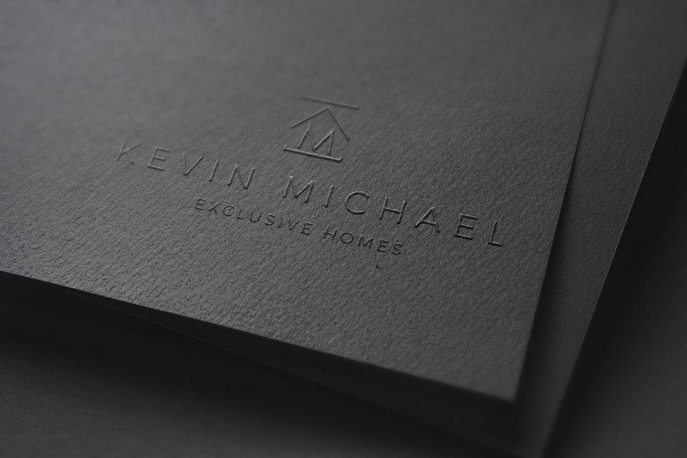 Kevin Michael Luxury Homes | Logo Design