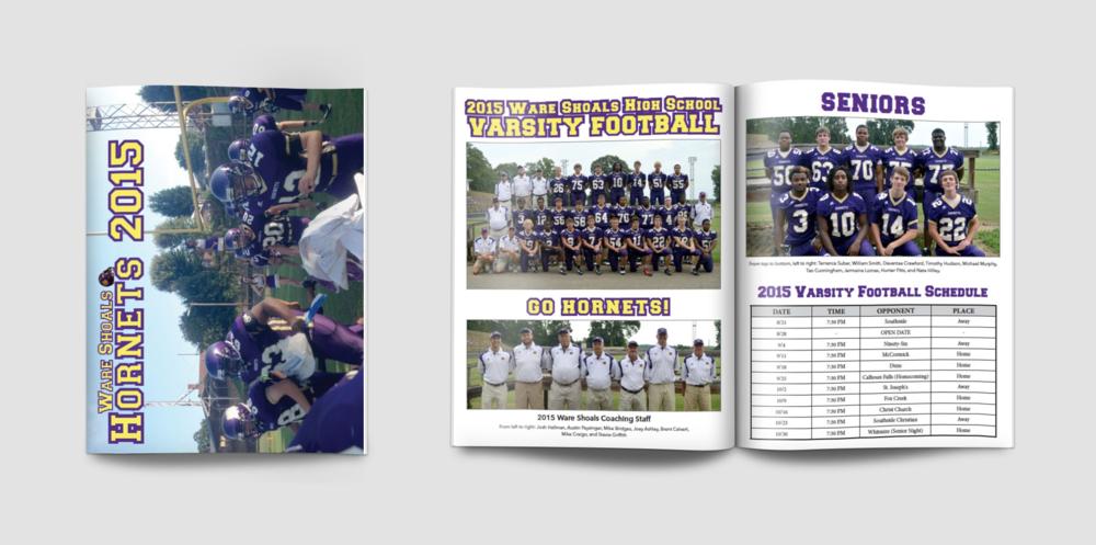 2015 WSHS Football Program