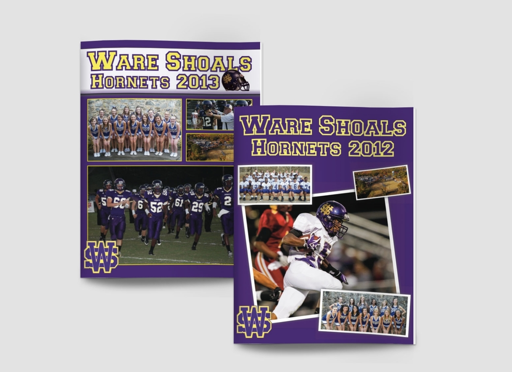 2012 and 2013 WSHS Football Programs
