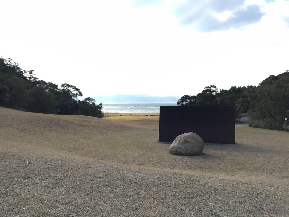 背山面海,藝術與自然環境結合
