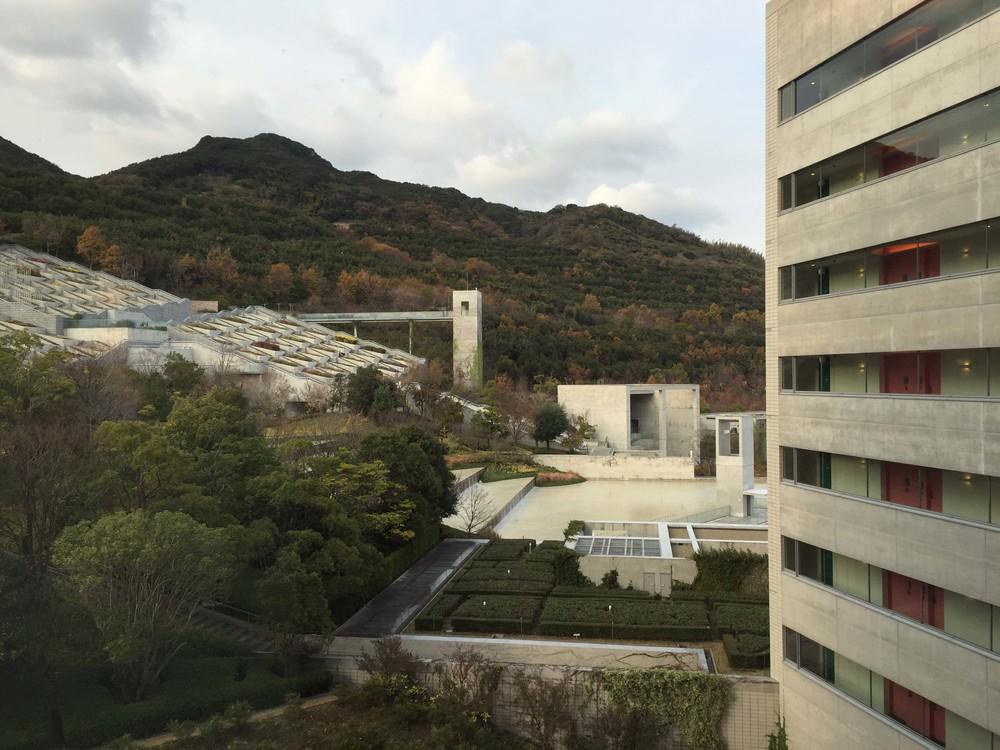 飯店客房即可看見百段苑