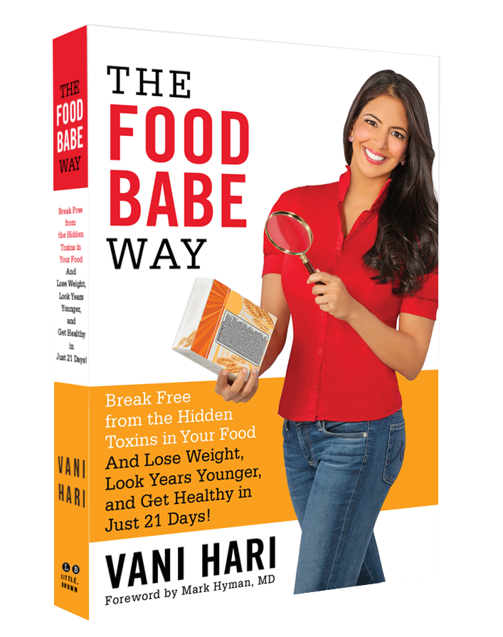 The Food Babe Way: Break Free from the Hidden Toxins in Your Food and Lose Weight, Look Years Younger, and Get Healthy in Just 21 Days!  - $14.85