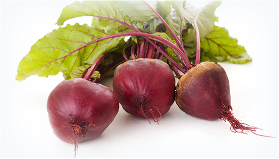 Beets is one of the ingredients that the industry is contemplating using to replace artificial colors. Courtesy of colorMaker Inc.