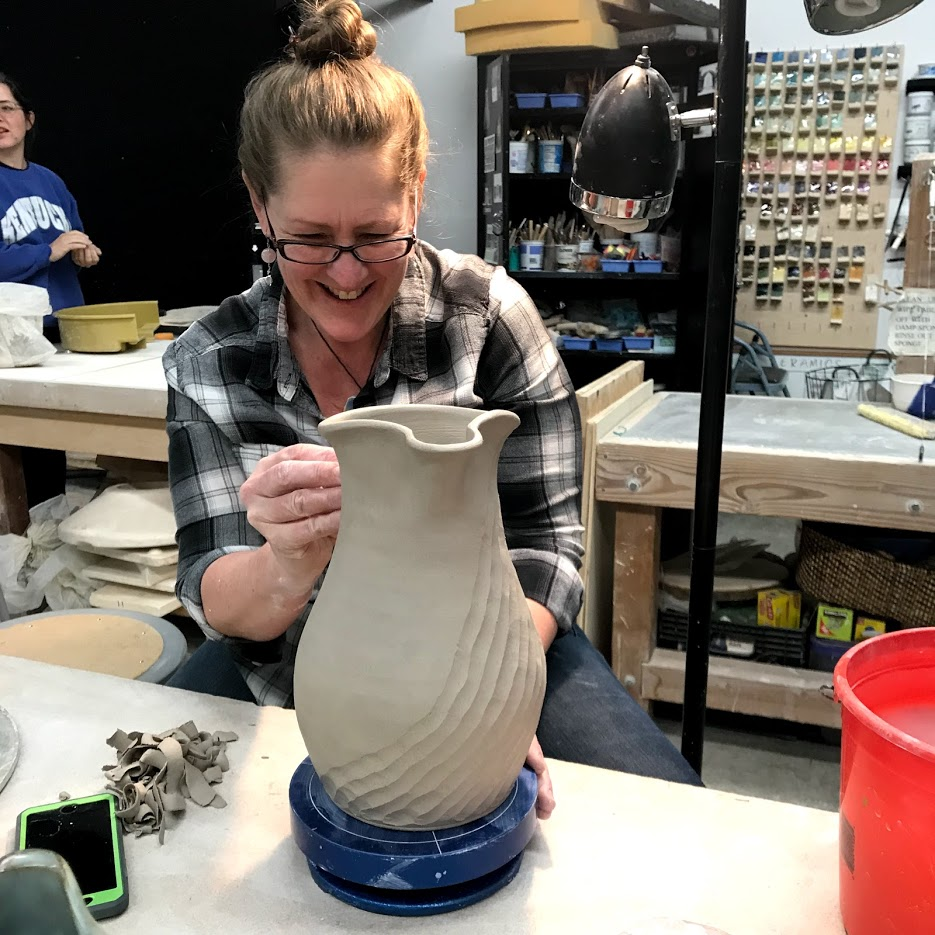 Adult Ceramics Classes with Jules Stout - Tuesdays & Thursdays5:30 PM-8:30 PMMay 1st- 29th. $150/Mo or $25 Drop In