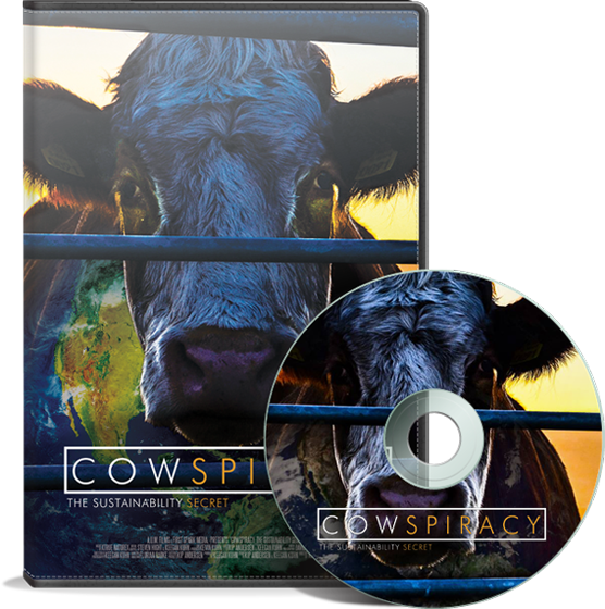 Cowspiracy - a documentary about how the meat industry is harming our planet!