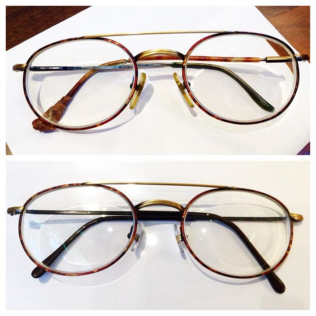 """Your favourite vintage pair of glasses running on their last legs? Dont worry, we can bring them back from the dead"". Thats right Adelaide, dont throw your favourite spectacles away. Our specialist frame repair department can bring all spectacles back to life. #adelaide #rundlemall #adelaidearcade #repair #eyewear #vintage #spectaclerepairs #revival #spectacles"