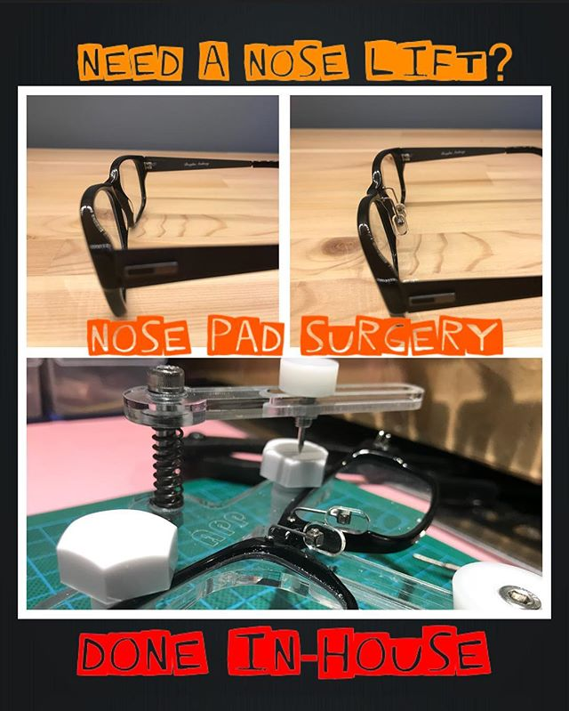 NOsePad suRgerY? Is there such a thing?! YES there is.. for those that need it, you know where we are. discreet and done within the hour.. #thepinholeeffect #adelaidearcade #asianfit #noselift #ohmygod