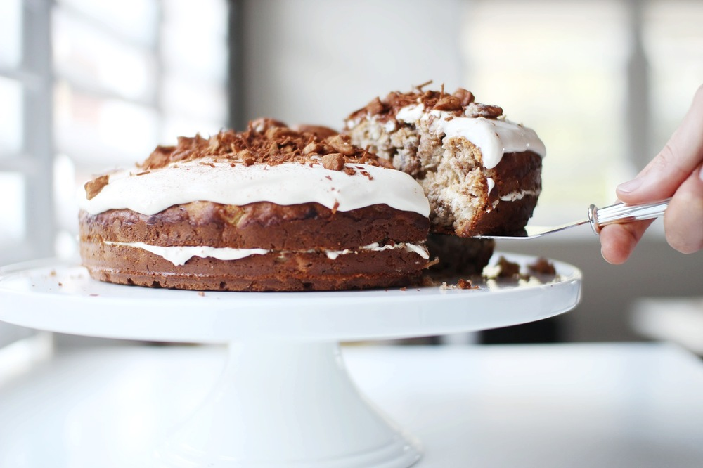 Healthy Hummingbird Cake