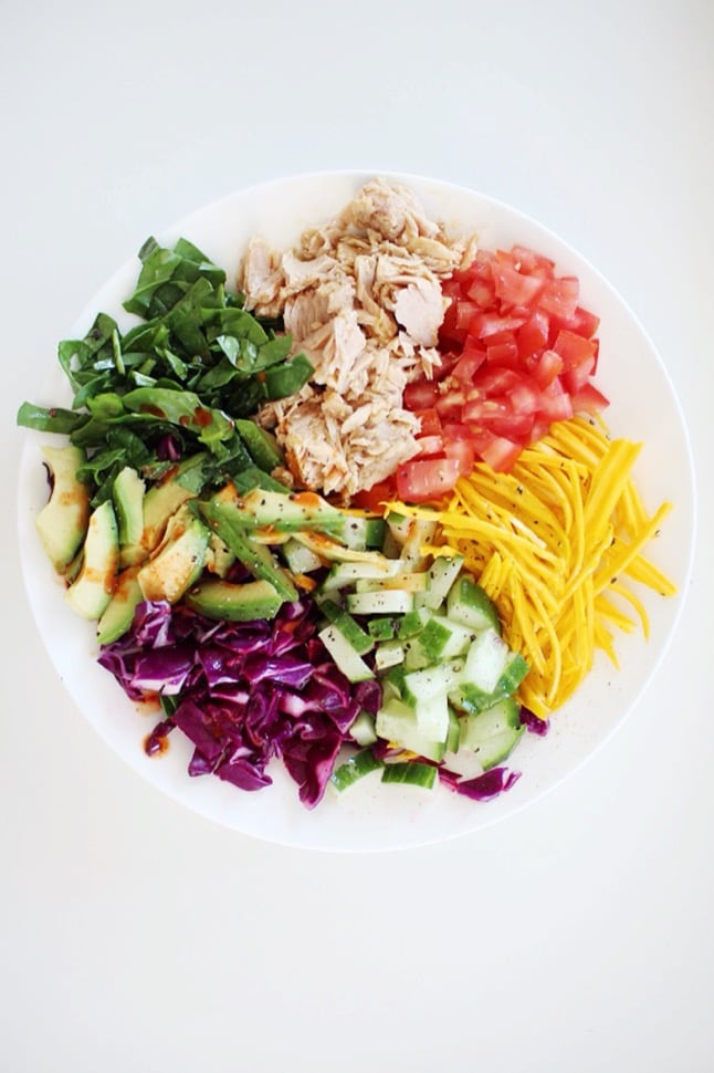 Rainbow Tuna Bowl