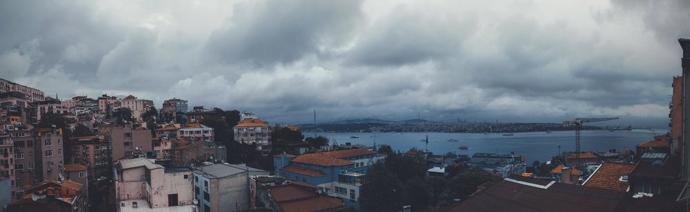 Rainy morning in my old hood. I stayed at the Cihangir Otel which was close to my old apartment just so I could take all this in again.... nostalgia to the max.