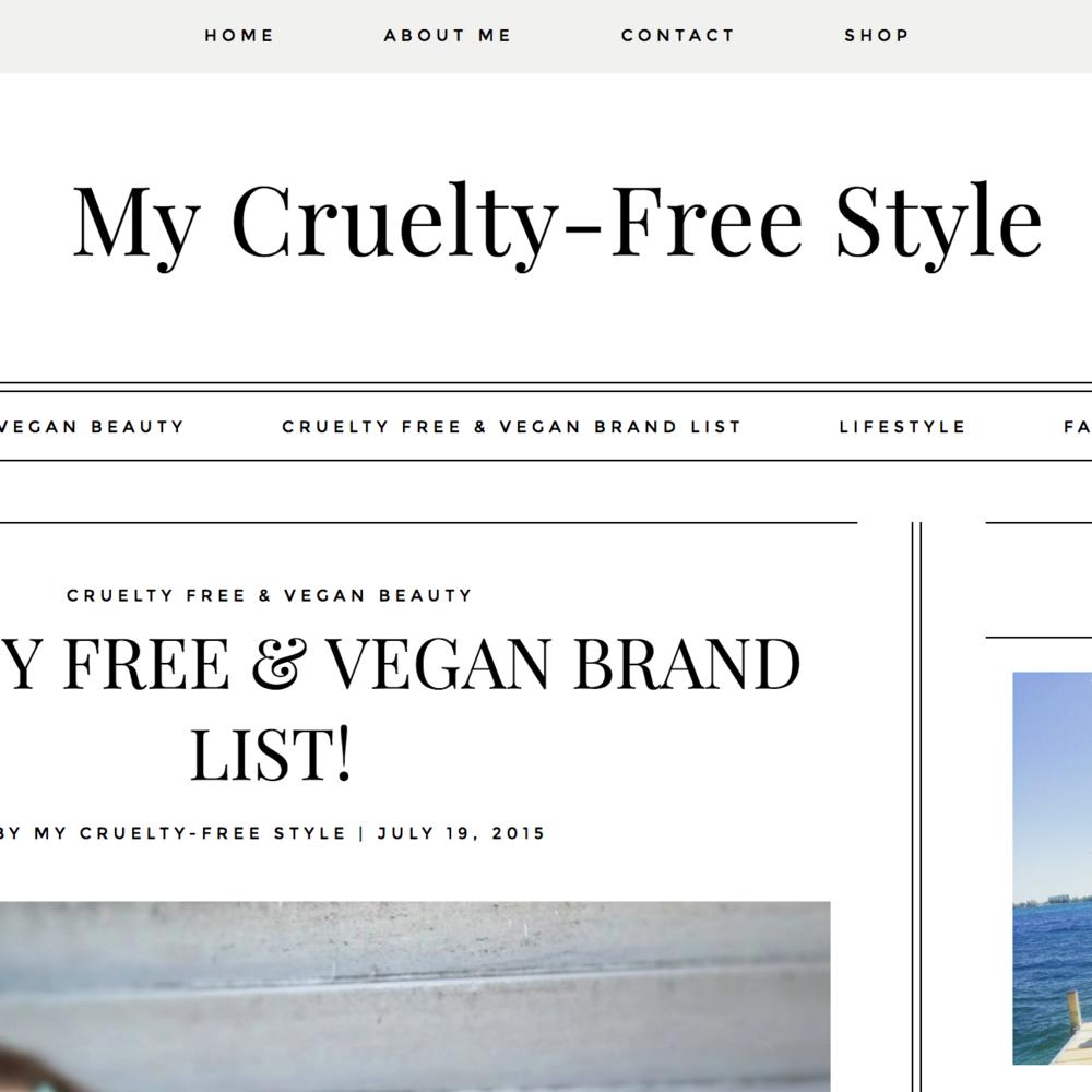 July 19, 2015 | MyCrueltyFreeStyle