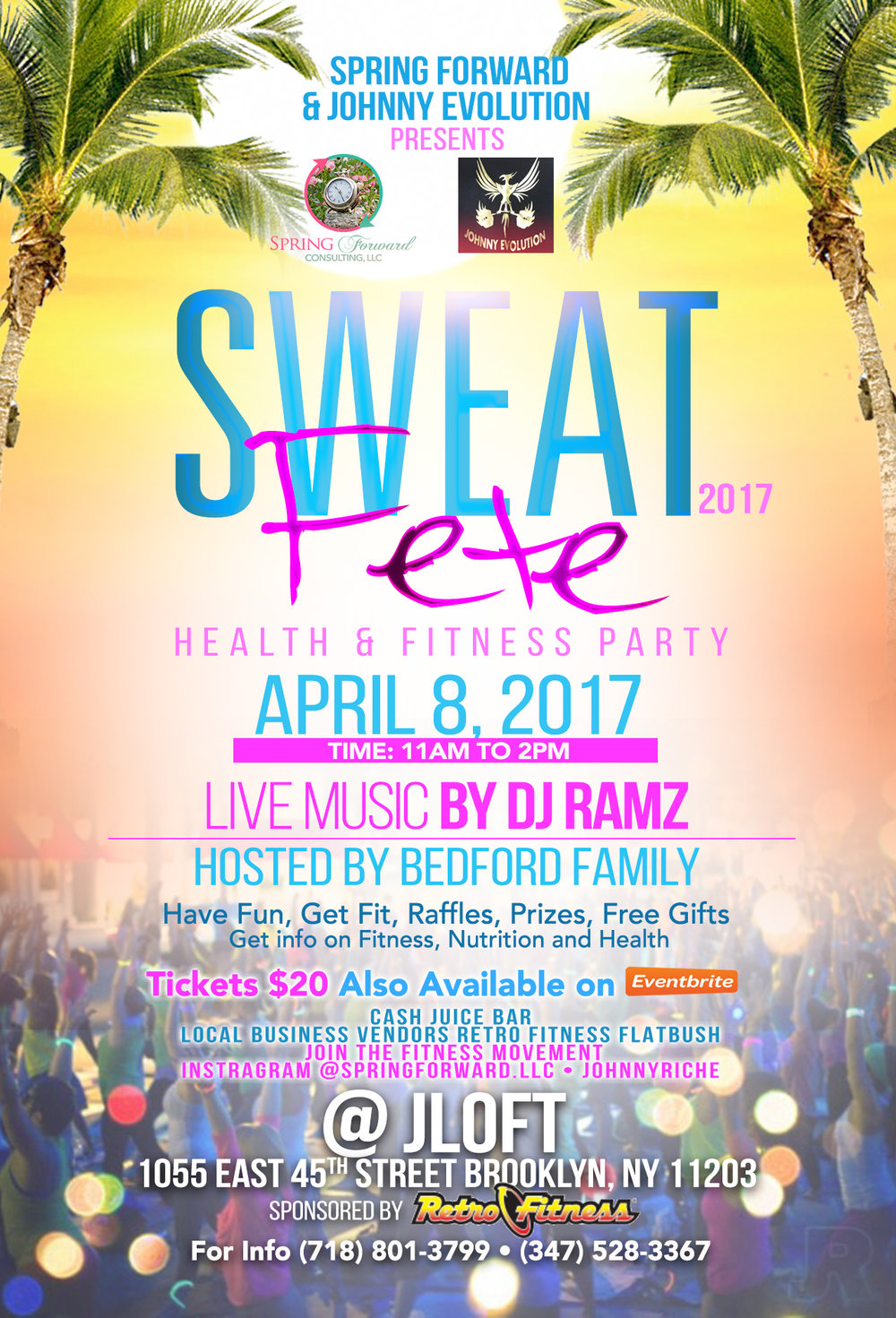 Sweat Fete + MOGI MOUSSE