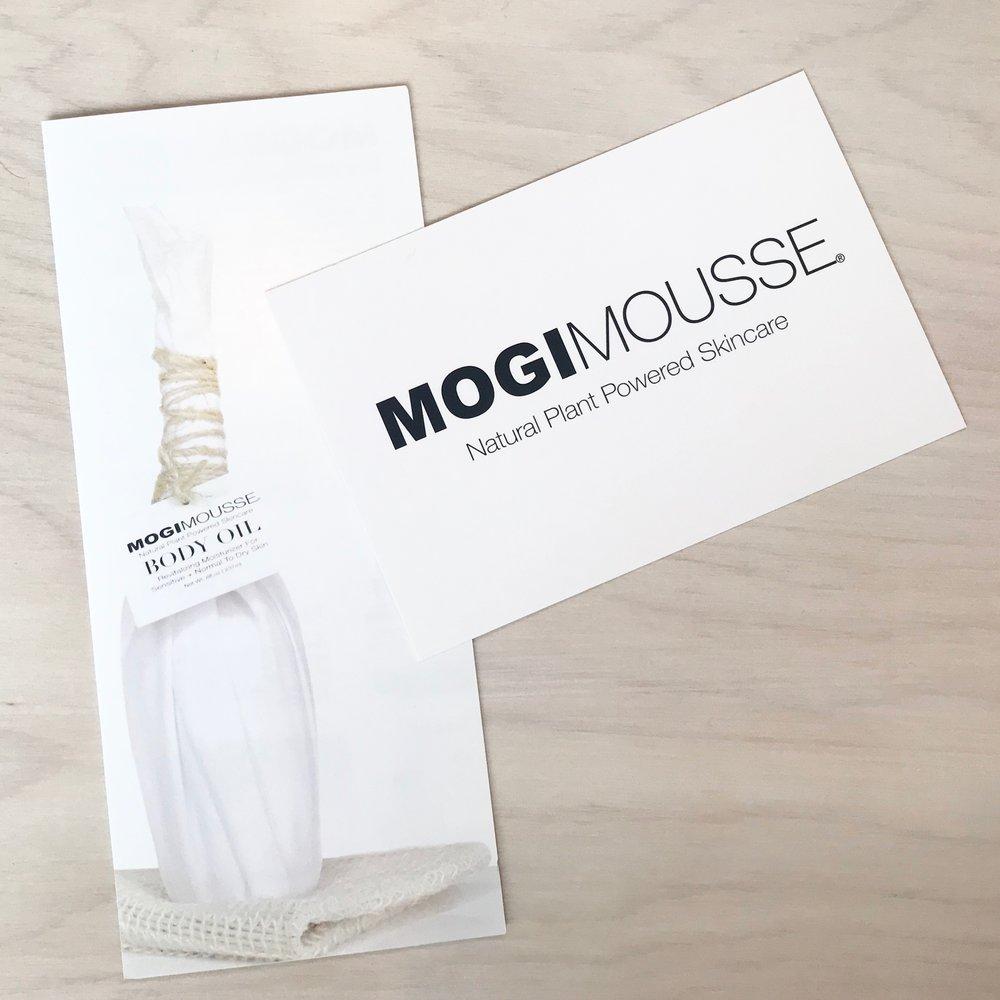 MOGI MOUSSE Skincare