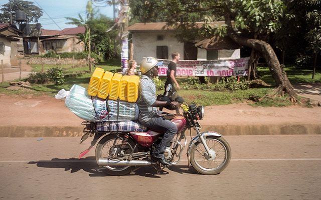 Boda boda scenes from Kampala
