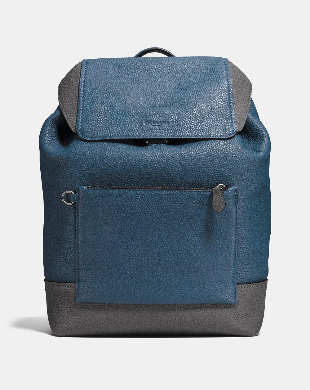 Coach Manhattan Backpack (Blue)