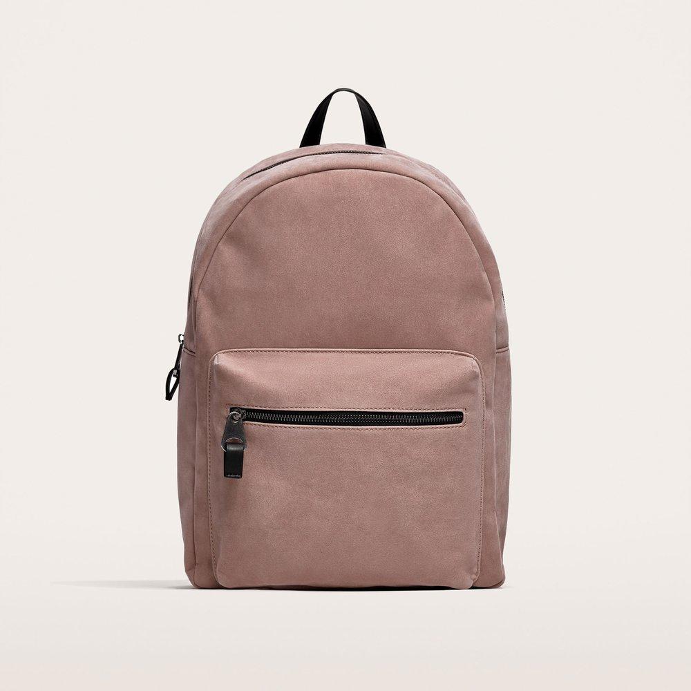 Zara Pink Sporty Backpack