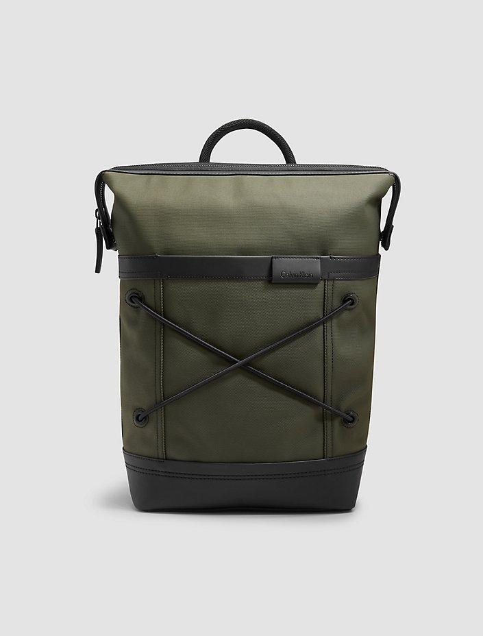 Calvin Klein Ezra Canvas Backpack