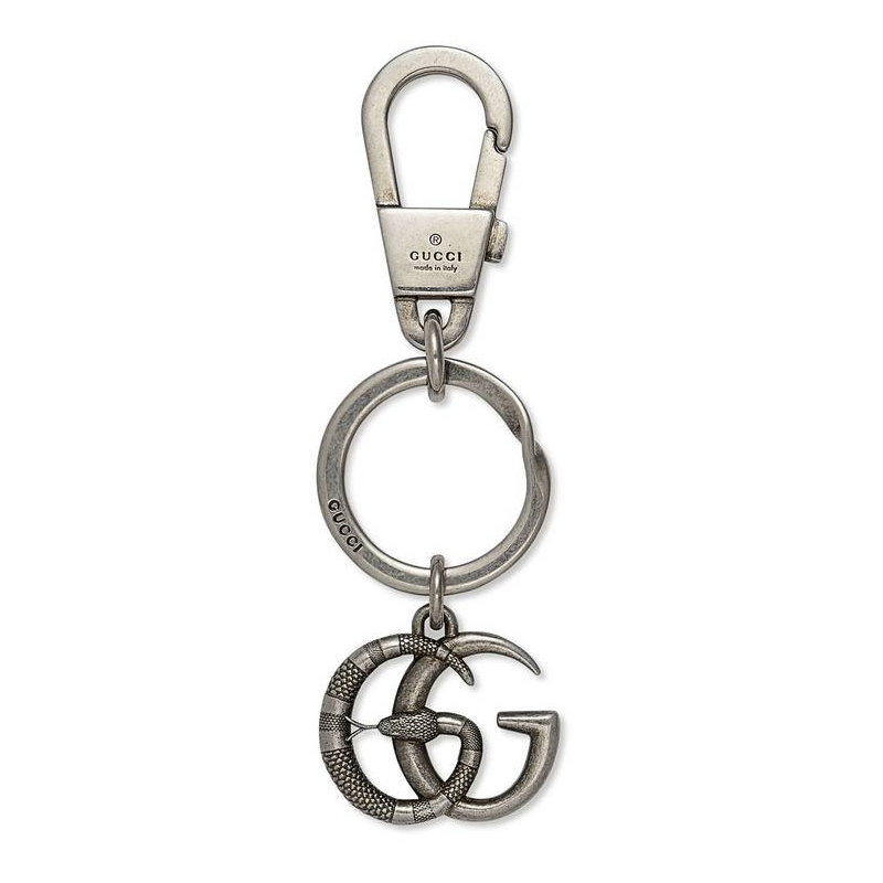 The Chains - The Gucci GG Brass Keychain ($240) incorporates Gucci's signature snake - signifying a mix of power and seduction. And don't worry, this snake doesn't bite, but that doesn't mean you shouldn't.