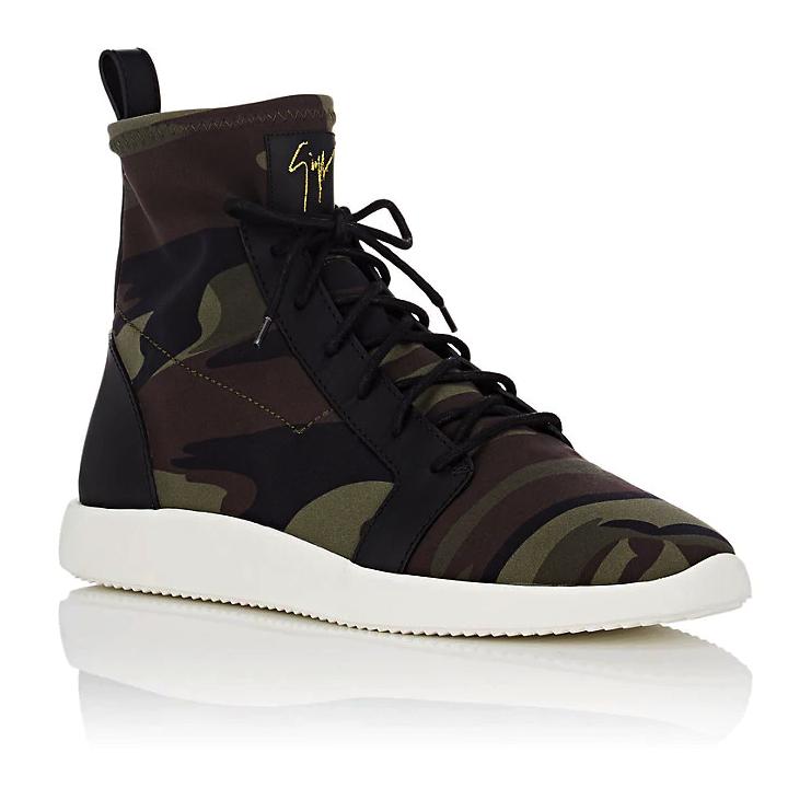 Giuseppe Zanotti Camouflage Sneakers