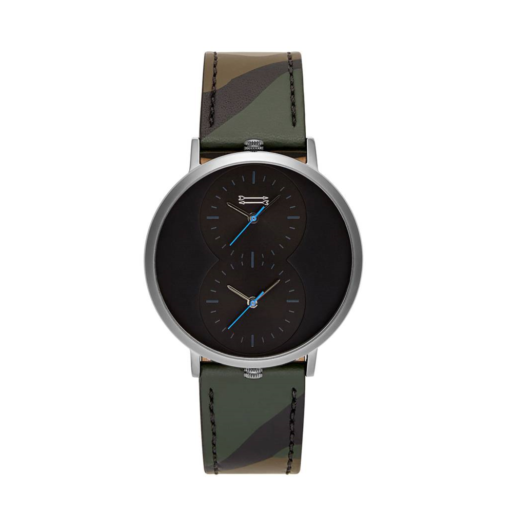 Uri Minkoff Griffith Leather Watch