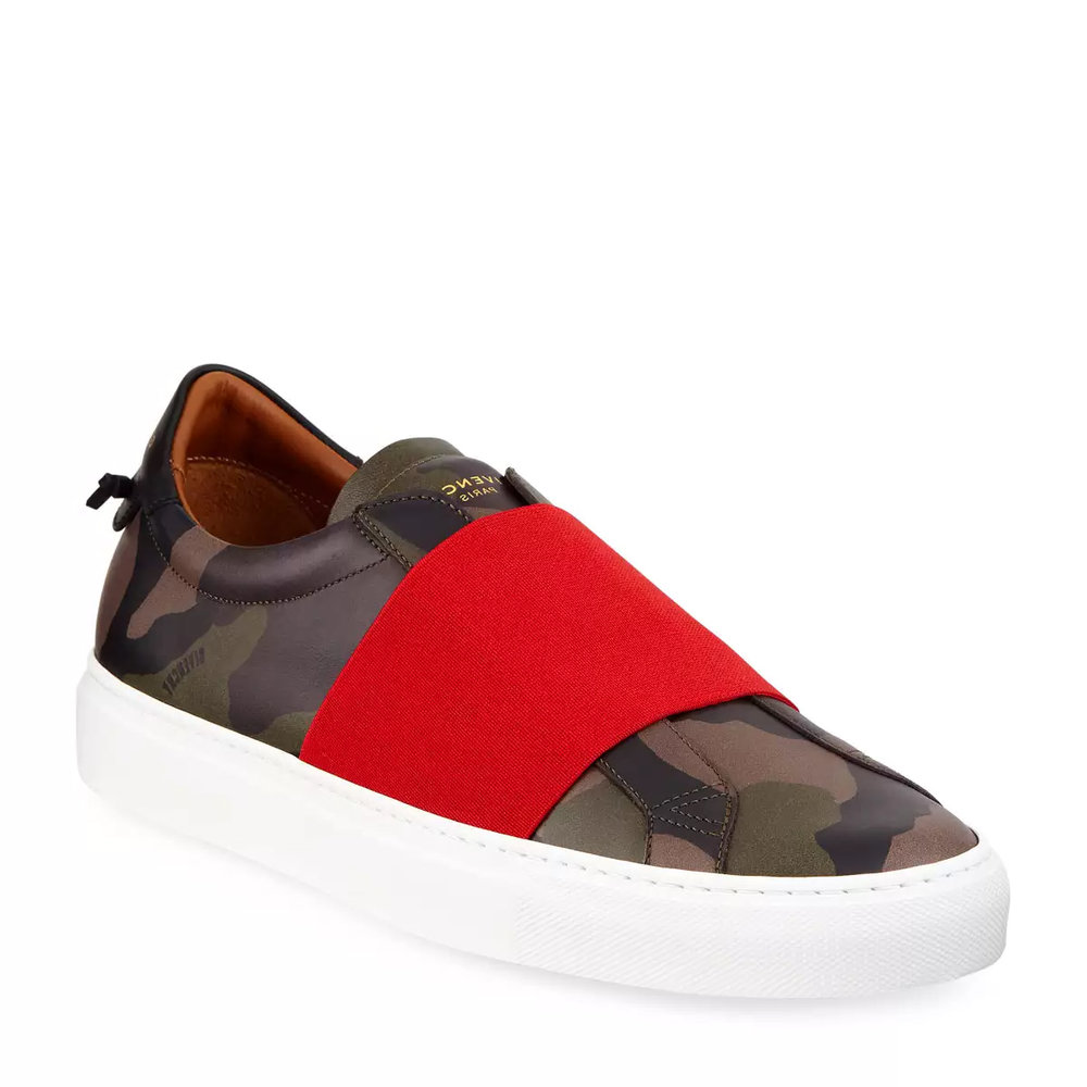 Givenchy Camo Slip-On Sneakers