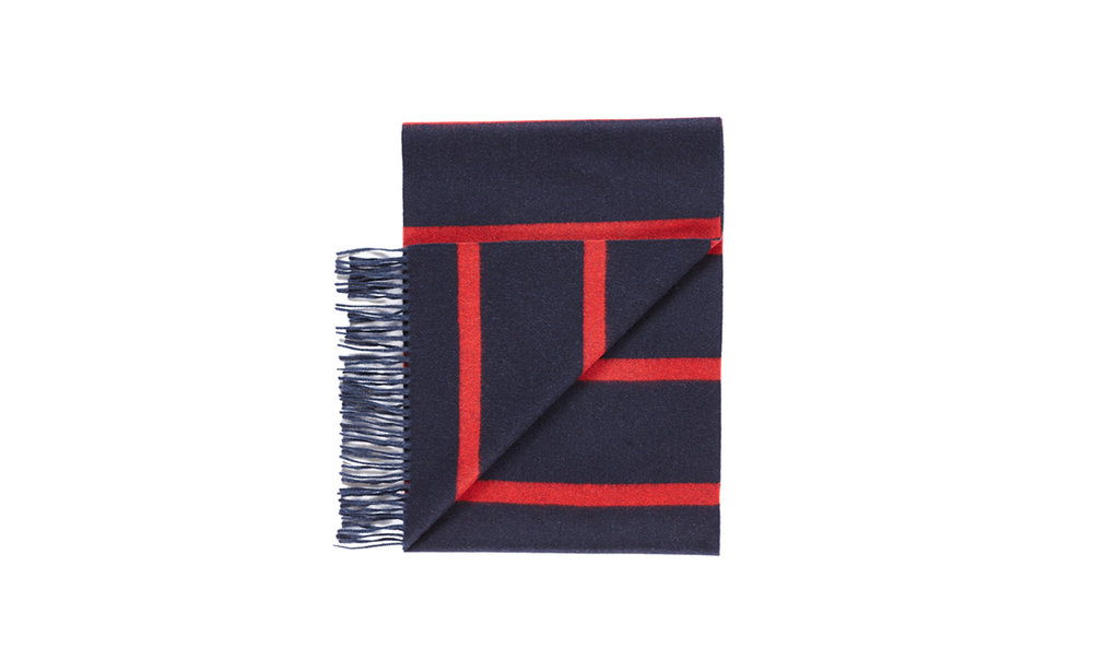 Begg & Co Striped Scarf
