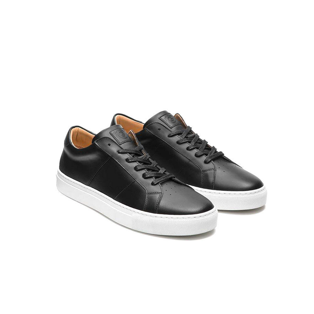 Greats 'Royale' Black Leather Sneakers