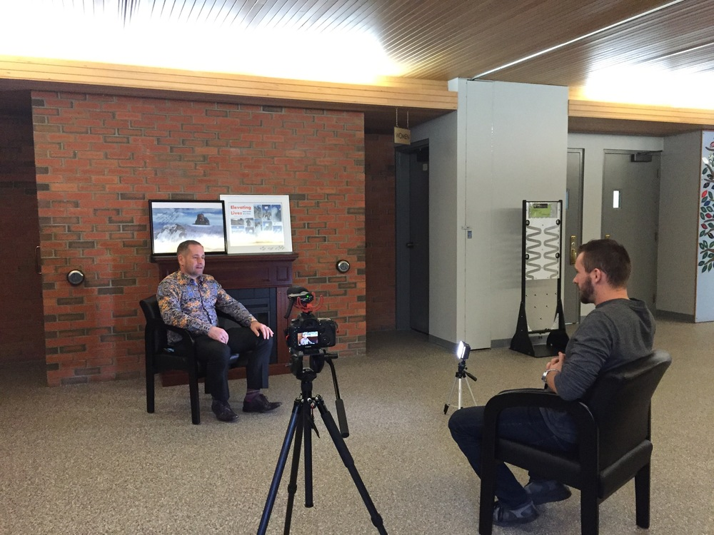 Here we have Jonathan, with Symbol Syndication interviewing Trevor.