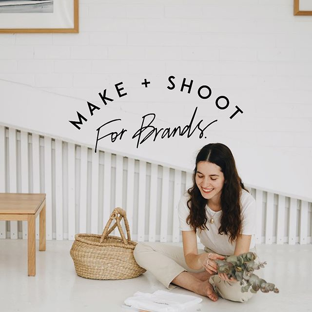 "✨ Make + Shoot ✨ — a workshop name especially close to our hearts. Taken from ""Make + Shoot Fridays"" which we used to do weekly with our first interns, Holly and Vashti. It was Vashti who had the idea to pull this name from the archives and who designed the adorable branding you see above. She sent me this text this morning, ""Happy launch day! I spent the morning going into the archives of our make + shoot days, this is so special to my heart. Those Fridays helped me so so much in understanding who I was as a creative & now it's a workshop! The people have no idea what's coming!"" We have so many golden brands contributing their magic to this gathering — @startupcreative @theapricotmemoirs @naked_paleo @saltandglow @decadencecupcakebakery just to name a few...Yep, it's going to be a shindig you do not want to miss! — TICKETS NOW LIVE ON www.TheHonestJones.com #linkinbio"