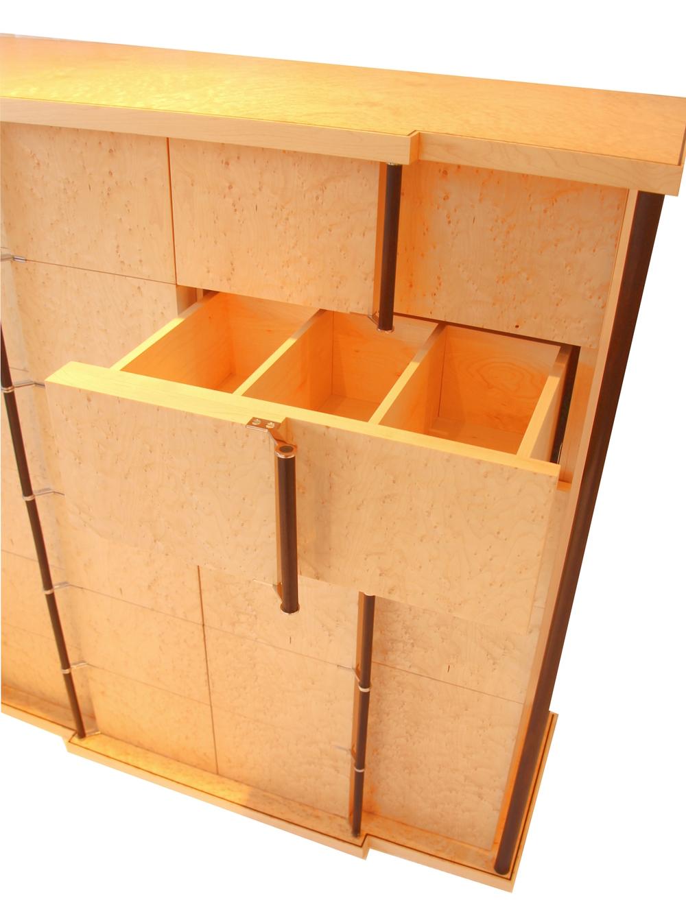 Art Deco CD Cabinet