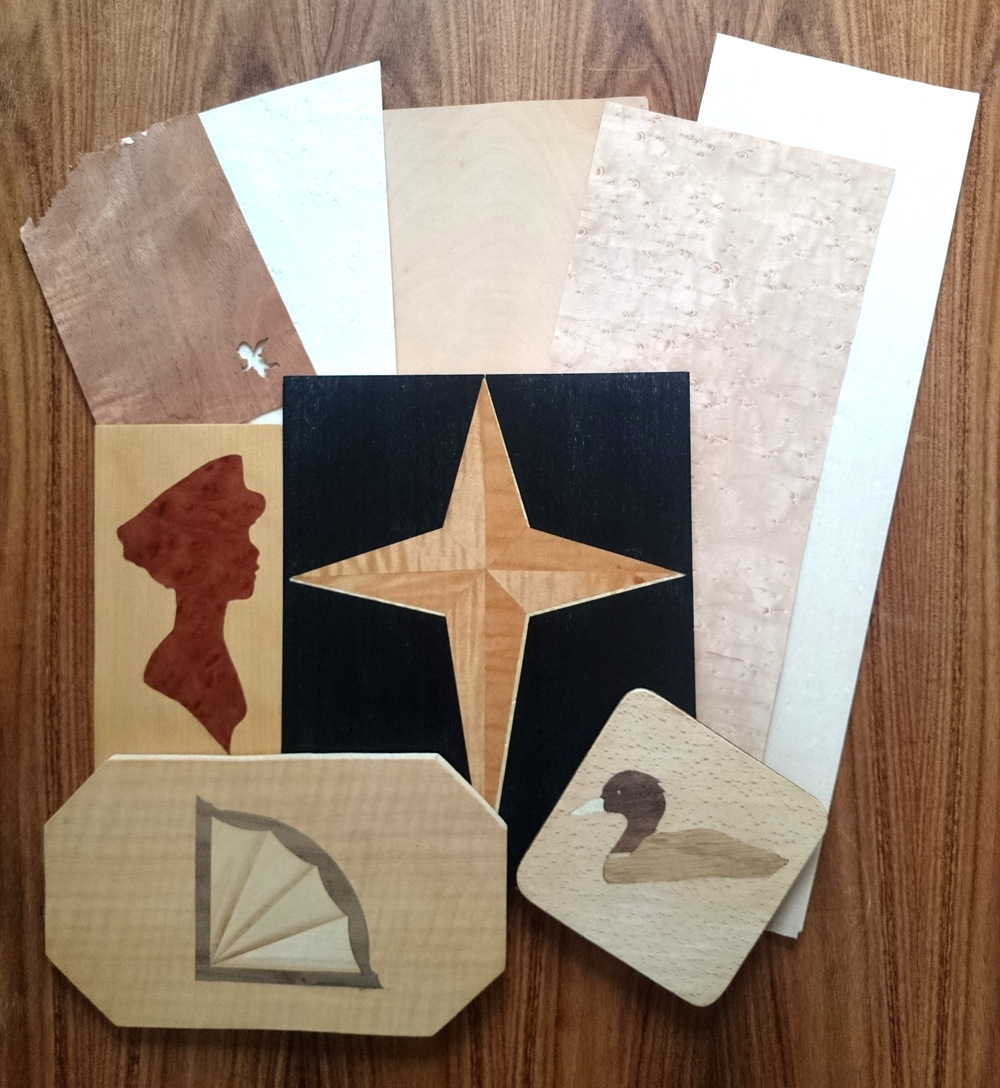 Workshop - Marquetry/Veneering November 2015