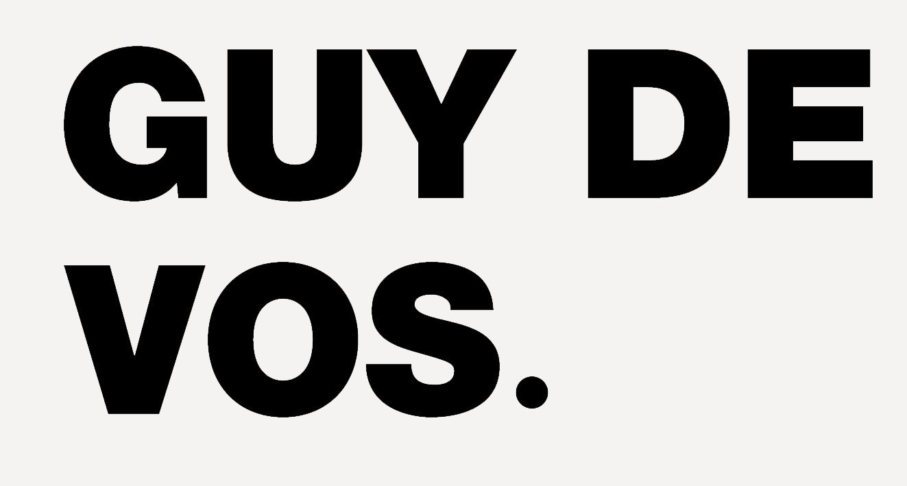 CRAFT INDUSTRY + GUY DE VOS STUDIO — guydevos
