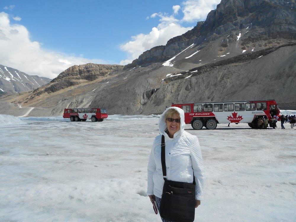 Athabasca Glacier, Canada – June 2015
