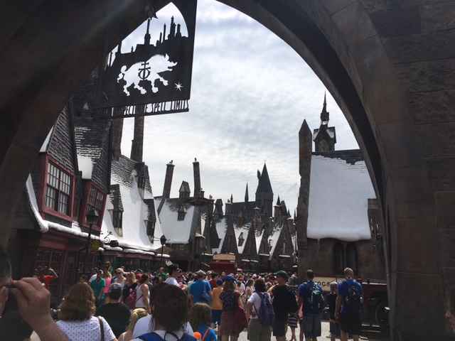 Hogwarts, Orlando - March 2016