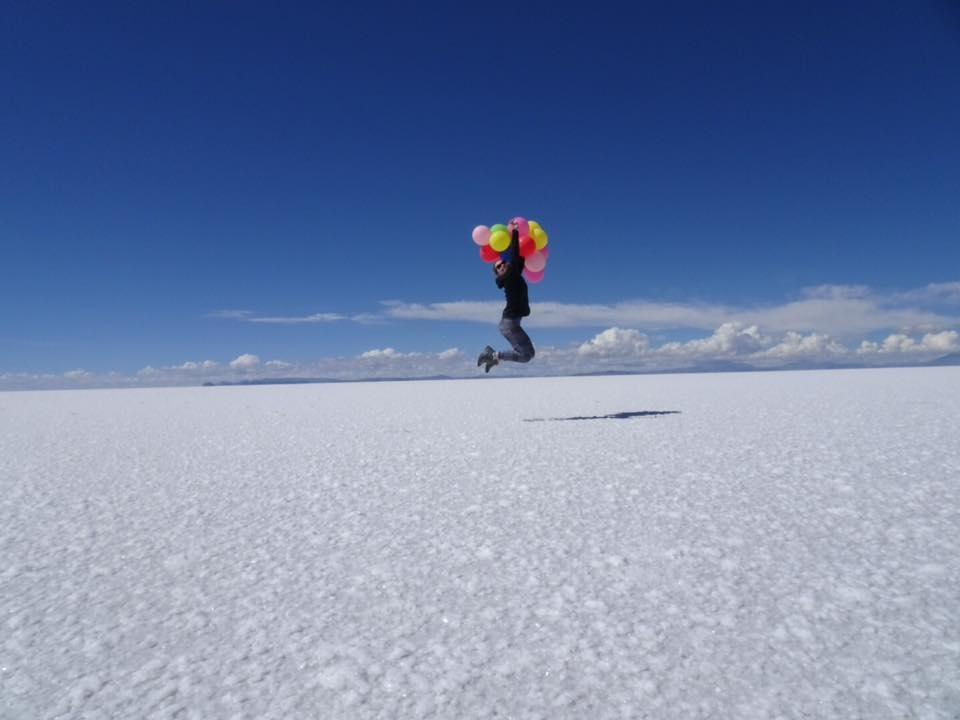 Uyuni Salt Flats, Bolivia - March 2017