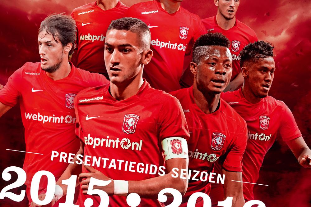 FC Twente presentatiegids 2015/2016