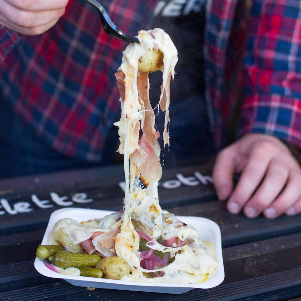 The Street Food One: Raclette Brothers at Skylight Rooftop, Tobacco Dock
