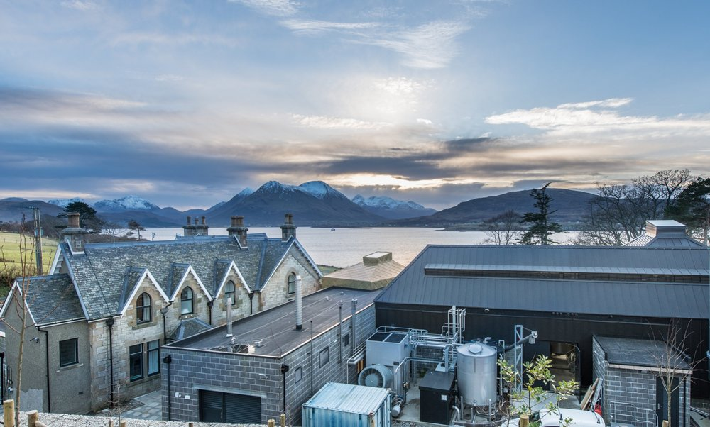 ISLE OF RAASAY DISTILLERY -