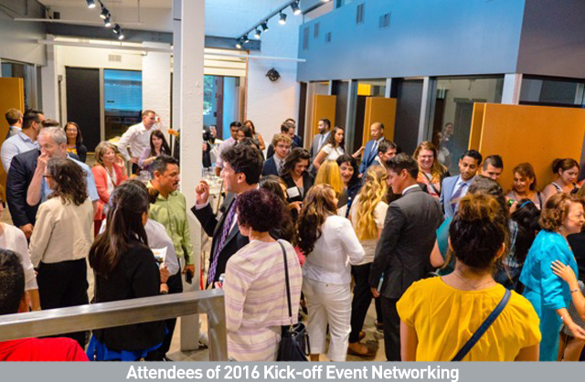 Attendees of 2016 Kick-off Event Networking.jpg