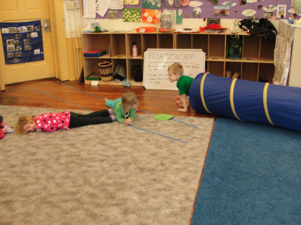 Obstacle Course to Explore Relationships