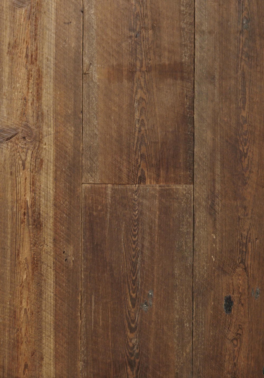 Reclaimed Heart Pine Original, Skiped Bare Poly Prime 8