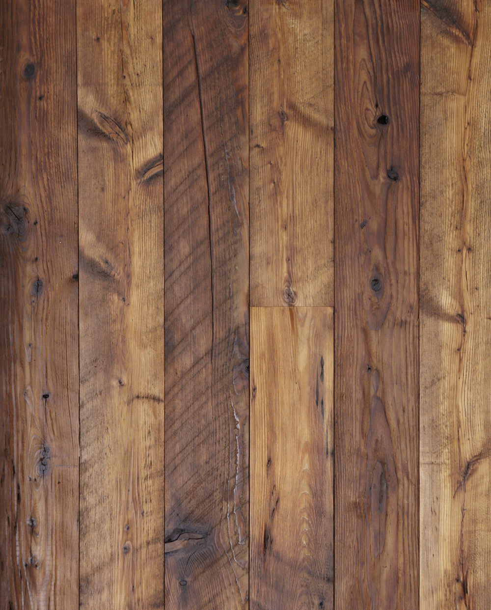 Reclaimed Hemlock Softwood Paneling [Surfaced Mushroom Wood]