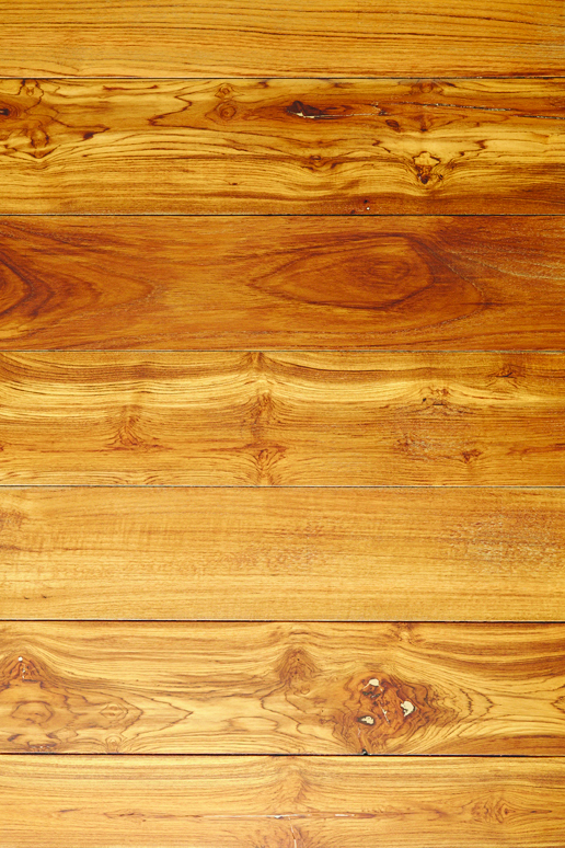 Reclaimed Teak Hardwood Flooring [New Face]