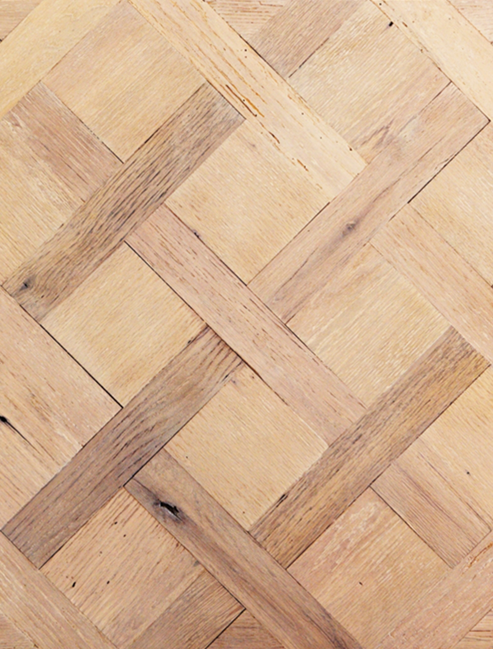 Reclaimed Mixed Oak Hardwood Flooring [Parquet De Versailles]