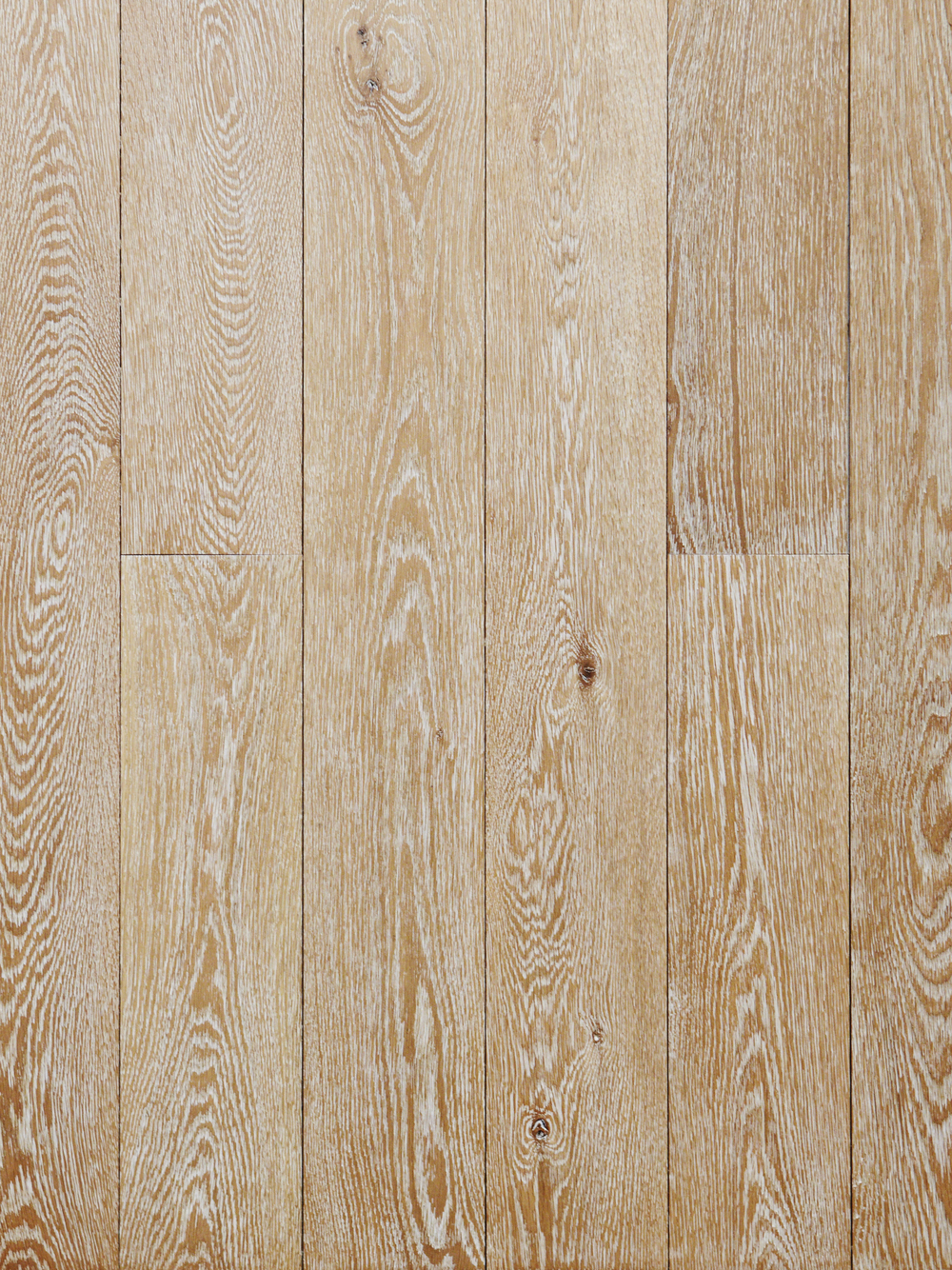 Select Harvest White Oak Hardwood Flooring [Cerused Finish]