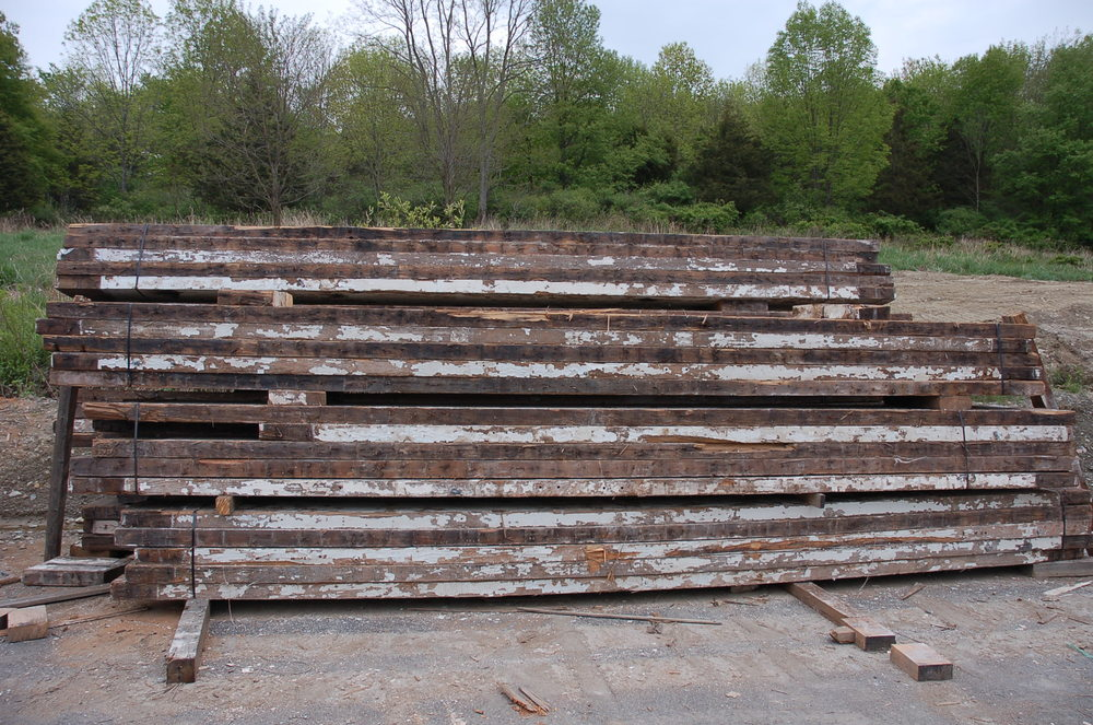 Raw Material, at The Hudson Company Mill, Pine Plains, NY.