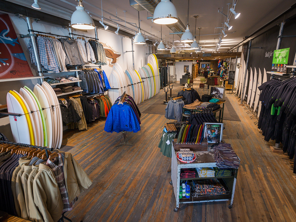Patagonia Surf Shop, New York.