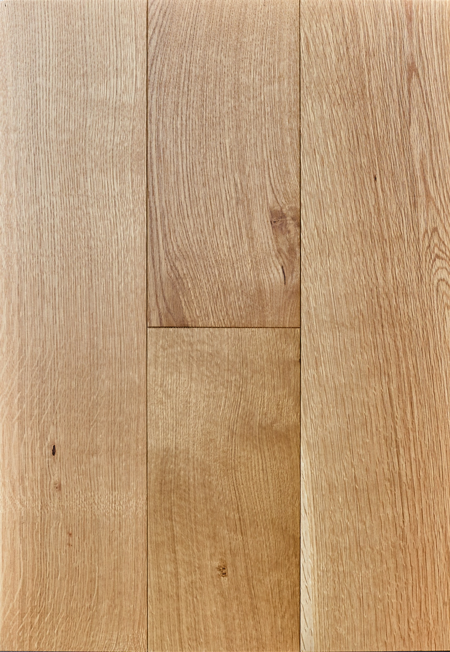 Quarter Sawn White Oak Flooring With Clear Finish By The