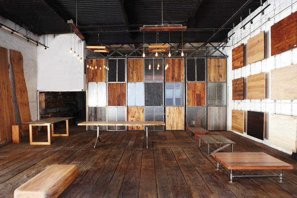 Hudson Company Showroom, Brooklyn